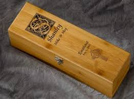 engraved box engraved personalized wine box with tools