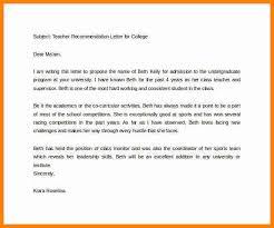 4 recommendation letter for students from teacher art resumed