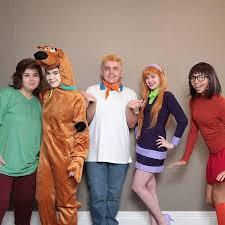 Daphne Scooby Doo Halloween Costume Diy Scooby Doo Shaggy Fred Daphne Velma Halloween Group Costume