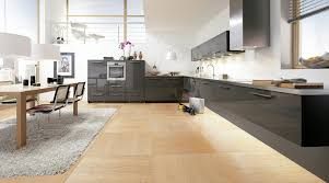 Large Modern Rug Awesome Large Modern Open Kitchen Design With Brown Floor And