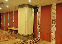 restaurant movable partitions patio sliding door for hotel