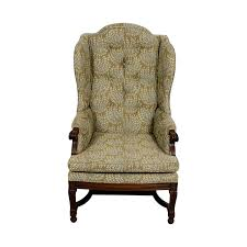 Antique Accent Chair 77 Hickory Hickory Olive Vintage Accent Chair Chairs