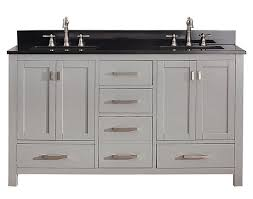 60 Inch White Vanity Avanity Modero Double 60 Inch Transitional Bathroom Vanity
