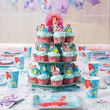 mermaid cupcakes mermaid cupcake tower idea party city party city