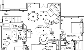 drawing floor plans telluride colorado ski villa architectural drawing production by
