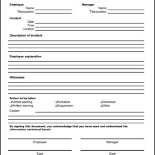 report form template blank employee incident report form template sle helloalive