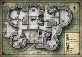 cragmaw castle map the lost mine of phandelver pinterest