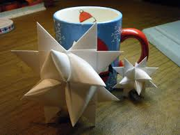 what about pie make a german paper star to hang on your christmas