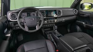 lexus seats in a tacoma 2017 toyota tacoma trd pro pickup truck review with price