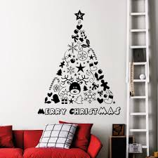 compare prices on design tree online shopping buy low price lovely nursery christmas wall decor vinyl art design christmas tree decoration wall sticker for home art