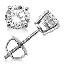 diamond back earrings buy online women s diamonds earrings halo diamond stud earrings