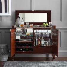 Gray Bar Cabinet Nero Bar Cabinet Williams Sonoma