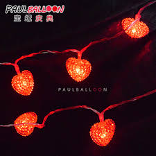 Red Heart Fairy Lights by China Battery Fairy Lights China Battery Fairy Lights Shopping