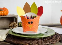 crafts for diy turkey boxes