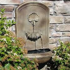 charming decoration outdoor wall water fountains peaceful ideas 49