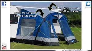 Inflatable Awnings For Motorhomes Kampa Fiesta 350 Air Inflatable Awning Review From Www A2zcamping