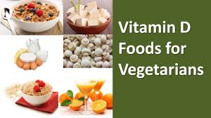 vitamin d foods for vegetarians youtube