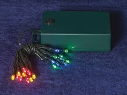 battery operated 20 led multi color mini lights indoor outdoor