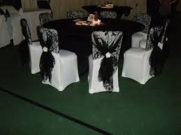 black and white chair covers 153 best chair covers and hoods images on chair covers