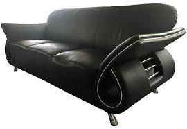 corner black fabric chaise sofa in white living room furniture