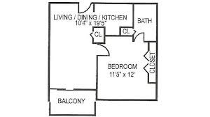 U Condo Floor Plan by University Towers State College Apartment Close To Penn State Campus
