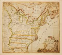 Maps Of United States Of America by Abel Buell U0027s 1784 Map Of The United States Of North America Ii