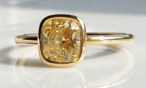 fancy yellow diamond engagement rings co fancy yellow 1 4ct fancy yellow diamond engagement