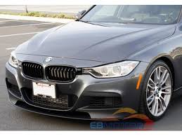 bmw f30 front spoiler p style carbon fiber front lip spoiler for bmw f30 f31 m tech