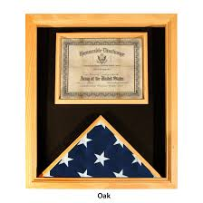 Flags Made In Usa Premium Usa Made Solid Oak Flag And Document Case For 3ft X 5ft