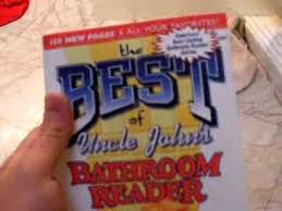 Uncle John Bathroom Reader Uncle Johns Bathroom Reader Youtube