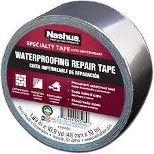 nashua tape 1 89 in x 10 9 yd waterproofing repair tape 1207802