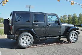 jeep wrangler military green 2018 jeep wrangler mules spied testing autoguide com news