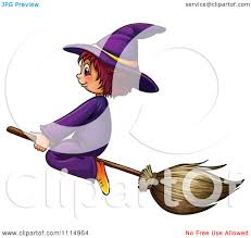 cute witch broom clipart collection