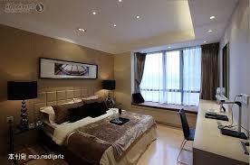 modern master bedroom bay window decoration effect chart fresh