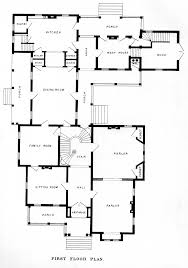 Victorian Floor Plan by Instant House Bicknell U0027s Victorian Buildings