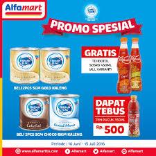 Teh Pucuk Harum Di Alfamart promo spesial tebus murah teh pucuk hanya rp 500 di alfamart