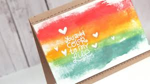 you add color to my life make a card monday 235 youtube