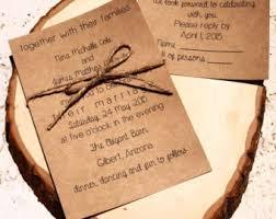 rustic wedding invitations cheap lilbibby