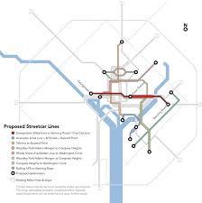 washington dc trolley map 7 things washington dc s 200m streetcar taught us about