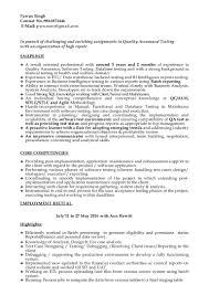 auditor cover letter quality analyst cover letter