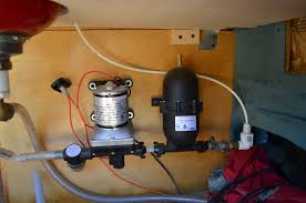 Rv Water Pump System Emjayvanblog Converting A Conversion Van Into A Mini Rv And