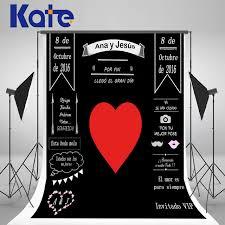 wedding backdrop graphic aliexpress buy kate custom wedding blackboard name date