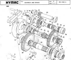 hymac 580 c b bs bt operators maintenance parts manual crawler