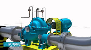 horizontal split casing pumps 3d installation manual youtube