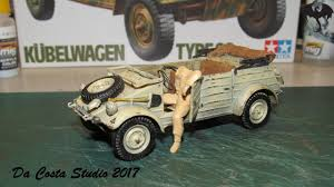 vw kubelwagen kit sneak peek on the paint work on the tamiya german kubelwagen type