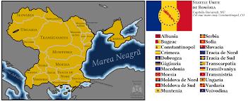 Map Of Romania The Sur United States Of Romania Imaginarymaps