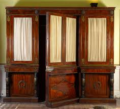 regency library antique bookcase