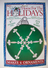 thl designer collection snowflake christmas ornament bead kit