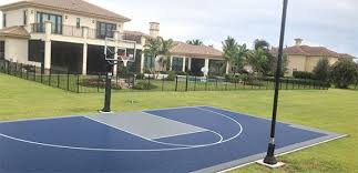 Backyard Basketball Court Backyard Basketball Court Home Sport Court Sport Court South