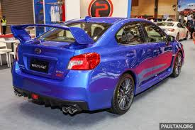 subaru wrx hatch 2018 2018 subaru wrx sti previewed in m u0027sia rm309 647
